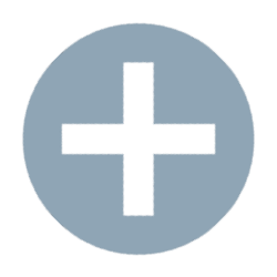 Grey plus sign icon used for a WrapLink to create a new wrap instance using the unique key combination specified by the WrapLink